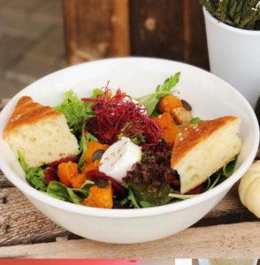 Salat Kürbis