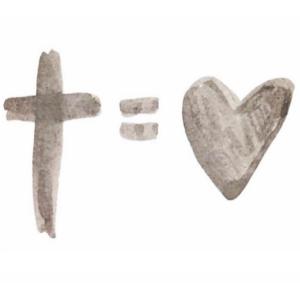 Kreuz und Herz | Liebe