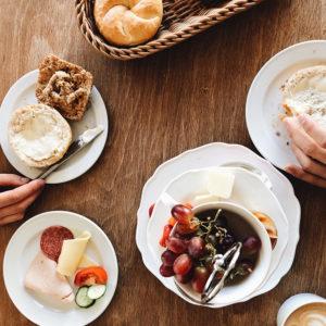 Frühstück von oben